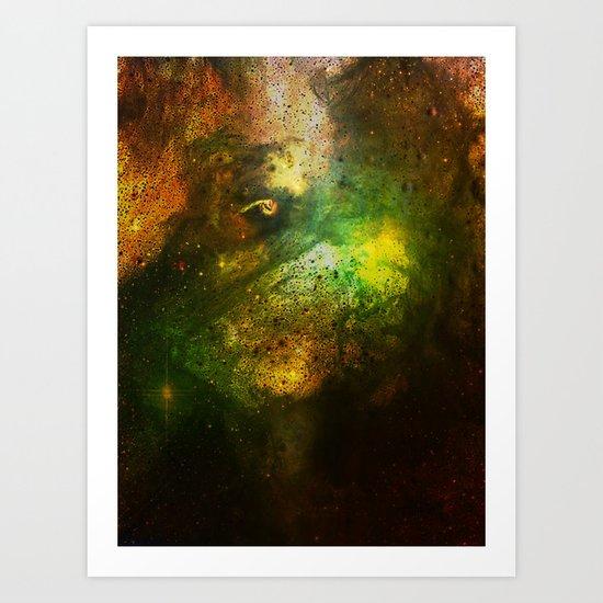 α Boo Art Print