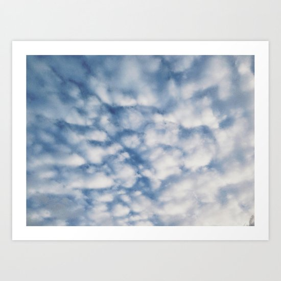 Cloud Formation Art Print