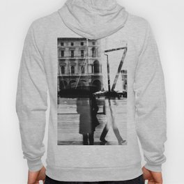 Reflection in Milan Hoody