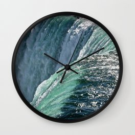 Niagara Falls - Closeup Wall Clock