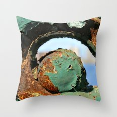 Rust on the Longfellow Throw Pillow