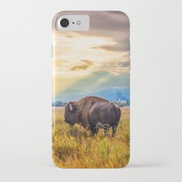 The Great American Bison iPhone Case