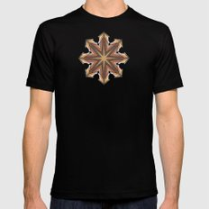 chaos symbol X-LARGE Black Mens Fitted Tee