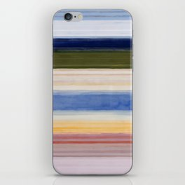 Colorbands Yellowstone Light Pink iPhone Skin