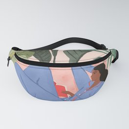 Reading with the Plants II Fanny Pack