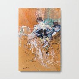 Henri de Toulouse-Lautrec - Conquest of passage Metal Print