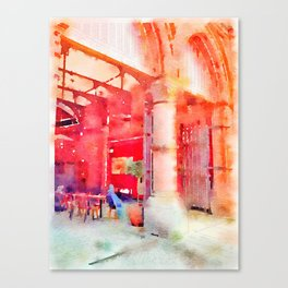 Lunch Break (Soaked Collection) Canvas Print