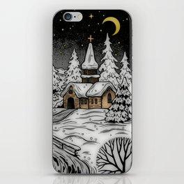Winter Scene iPhone Skin
