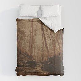 Slate Creek Waterfall Comforters