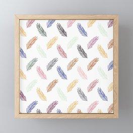 Lovely Pattern C Framed Mini Art Print