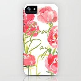 Ranunculus iPhone Case