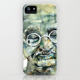 MAHATMA GANDHI iPhone Case