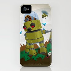 Monster robot toy iPhone (4, 4s) Slim Case