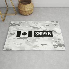 Canadian Military: Sniper (Arctic) Rug