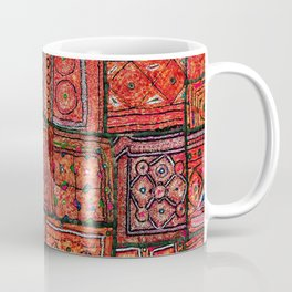 V5 Red Traditional Moroccan Design - A3 Coffee Mug