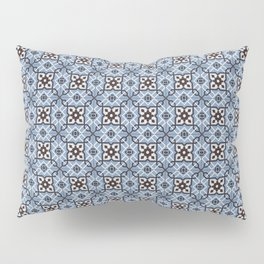Blue Tiles Pillow Sham