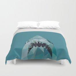 shark graphic | feyerabend illustration Duvet Cover
