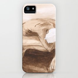 """""""Time and Death and God"""" [Series Part 2] iPhone Case"""