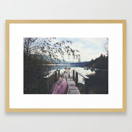 Dock 2 Framed Art Print