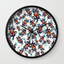 Nightmares - Danger eyes Wall Clock