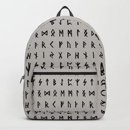 Nordic Runes // Storm Cloud Backpack