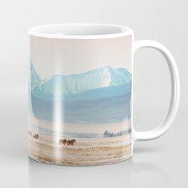 Big Hole Horses Coffee Mug