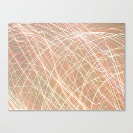 Crazy Lights. Canvas Print