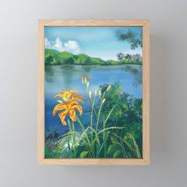 Lillie's on the River Framed Mini Art Print