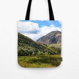 A walk in the Scottish Highlands, Glencoe. Tote Bag