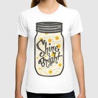 fireflies T-shirts featuring Fireflies by Landon Sheely