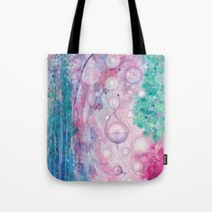 undersea forest Tote Bag