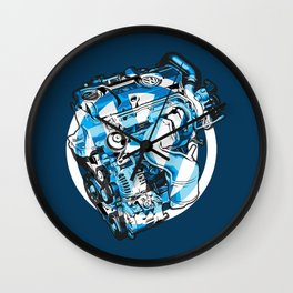 Legend Machine Wall Clock