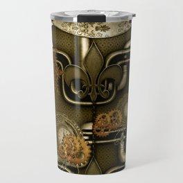 Wonderful noble steampunk design Travel Mug