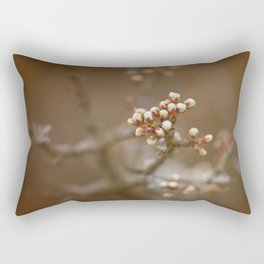 spring is upcoming Rectangular Pillow