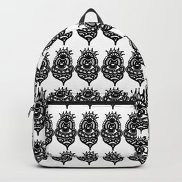 Jester Pattern Backpack