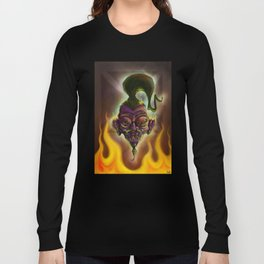 Rebel Shrunken Head Long Sleeve T-shirt