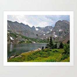 Indian Peaks Wilderness, Colorado Art Print