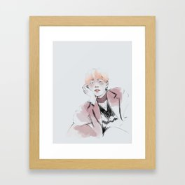 Tetepick Framed Art Print