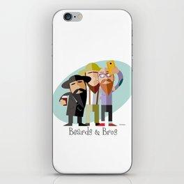 Beards And Bros  iPhone Skin