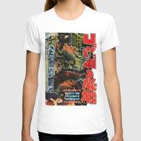 godzilla T-shirts featuring Godzilla by Golden Boy