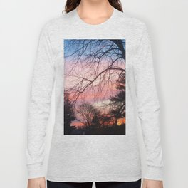 A Colorful Morning Long Sleeve T-shirt