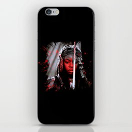 Michonne The Walking Dead Start to Finish iPhone Skin