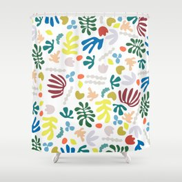 playing with matisse Shower Curtain