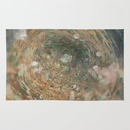 Nest and Feathers Rug