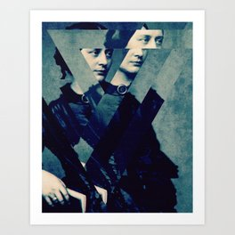 TheDecomposed Composer Clara Wieck Art Print