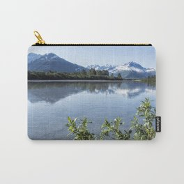 Placer River at the Bend in Turnagain Arm, No. 2 Carry-All Pouch