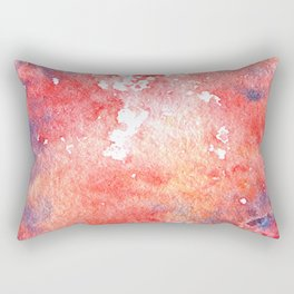 Symphony in red minor I Rectangular Pillow