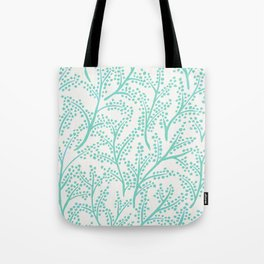Branches – Mint Palette Tote Bag