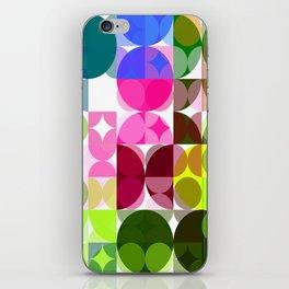Rosas Moradas 4 Abstract Circles 3 iPhone Skin