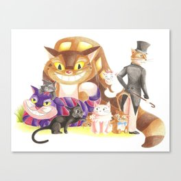 Chats alors ! Canvas Print